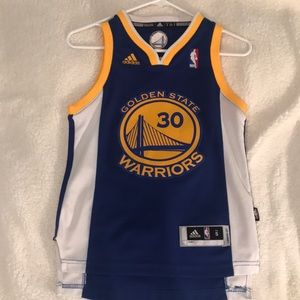 WARRIORS Youth Stephen Curry Jersey